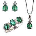 Parure di smeraldi