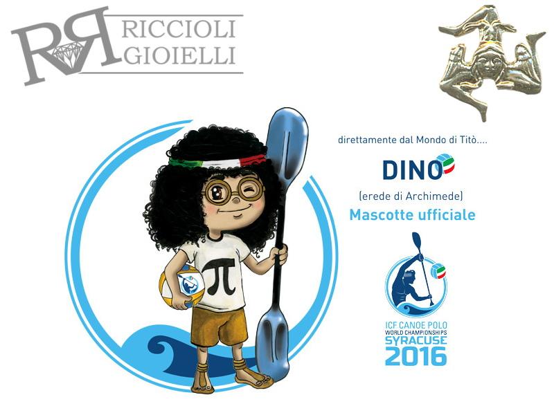 Mascotte dei Mondiali di Canoa Polo 2016