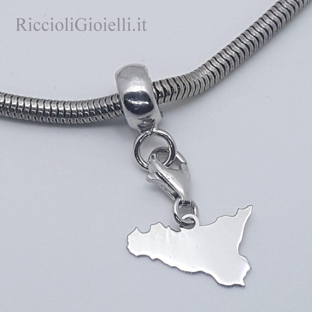 Charms Sicilia con adattatore